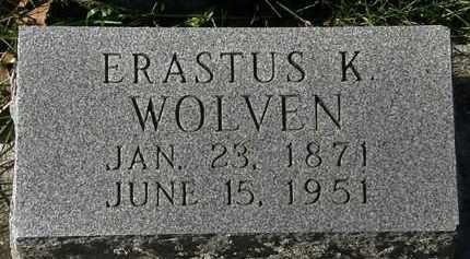 WOLVEN, ERASTUS K. - Erie County, Ohio   ERASTUS K. WOLVEN - Ohio Gravestone Photos