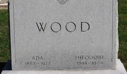 WOOD, THEODORE - Erie County, Ohio | THEODORE WOOD - Ohio Gravestone Photos