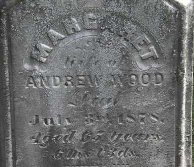 WOOD, MARGARET - Erie County, Ohio | MARGARET WOOD - Ohio Gravestone Photos