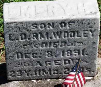 WOOLEY, EMERY H. - Erie County, Ohio | EMERY H. WOOLEY - Ohio Gravestone Photos