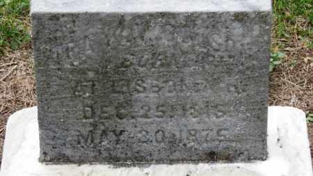 WOOLSON, IRA K. - Erie County, Ohio | IRA K. WOOLSON - Ohio Gravestone Photos