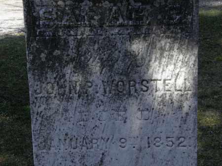 WORSTELL, SARAH C. - Erie County, Ohio | SARAH C. WORSTELL - Ohio Gravestone Photos