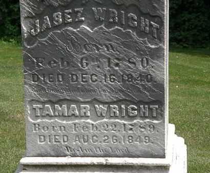 WRIGHT, TAMAR - Erie County, Ohio | TAMAR WRIGHT - Ohio Gravestone Photos