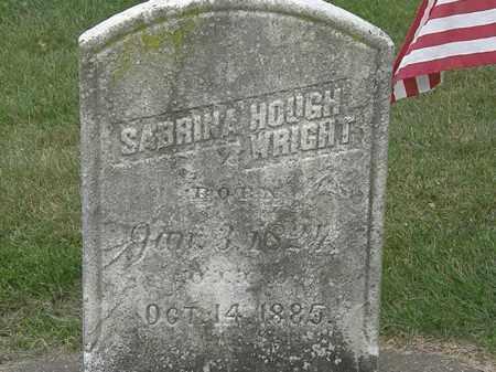 WRIGHT, SABRINA - Erie County, Ohio | SABRINA WRIGHT - Ohio Gravestone Photos