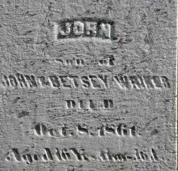 WRIKER, JOHN - Erie County, Ohio   JOHN WRIKER - Ohio Gravestone Photos