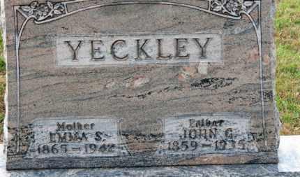 YECKLEY, EMMA S. - Erie County, Ohio | EMMA S. YECKLEY - Ohio Gravestone Photos