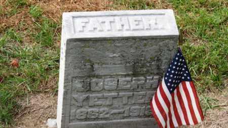 YETTER, JOSEPH - Erie County, Ohio | JOSEPH YETTER - Ohio Gravestone Photos