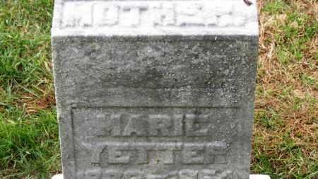 YETTER, MARIE - Erie County, Ohio | MARIE YETTER - Ohio Gravestone Photos