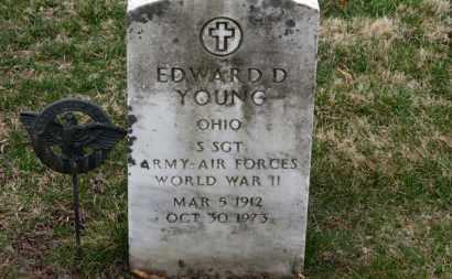 YOUNG, EDWARD D. - Erie County, Ohio | EDWARD D. YOUNG - Ohio Gravestone Photos