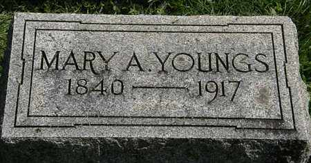 YOUNGS, MARY A. - Erie County, Ohio   MARY A. YOUNGS - Ohio Gravestone Photos
