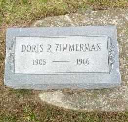 ZIMMERMAN, DORIS - Erie County, Ohio   DORIS ZIMMERMAN - Ohio Gravestone Photos