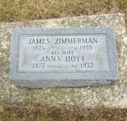 ZIMMERMAN, ANNA - Erie County, Ohio | ANNA ZIMMERMAN - Ohio Gravestone Photos