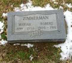 CURRIER ZIMMERMAN, MARIAN - Erie County, Ohio | MARIAN CURRIER ZIMMERMAN - Ohio Gravestone Photos