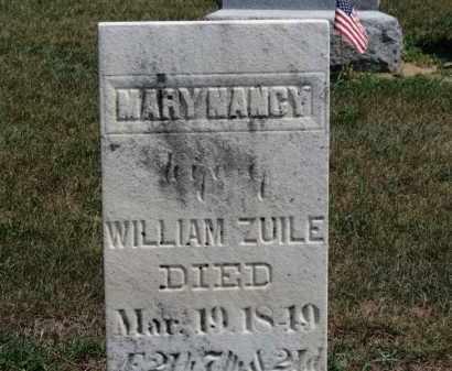 ZUILE, WILLIAM - Erie County, Ohio | WILLIAM ZUILE - Ohio Gravestone Photos