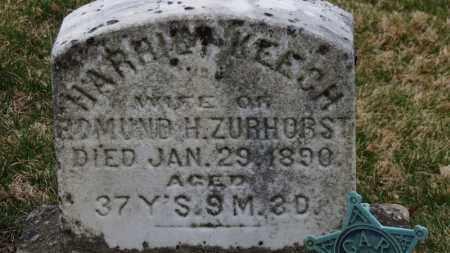 ZURHORST, HARRIET - Erie County, Ohio | HARRIET ZURHORST - Ohio Gravestone Photos