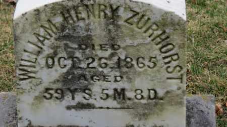 ZURHORST, WILLIAM HENRY - Erie County, Ohio | WILLIAM HENRY ZURHORST - Ohio Gravestone Photos