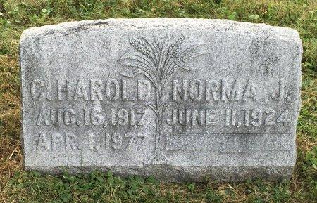 ?, C. HAROLD - Fairfield County, Ohio | C. HAROLD ? - Ohio Gravestone Photos