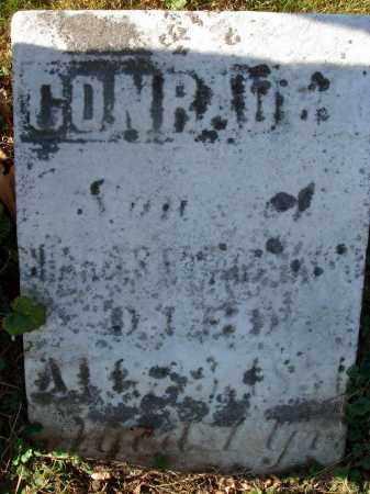 ?, CONRAD - Fairfield County, Ohio | CONRAD ? - Ohio Gravestone Photos