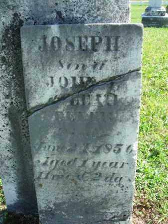 ?, JOSEPH - Fairfield County, Ohio   JOSEPH ? - Ohio Gravestone Photos