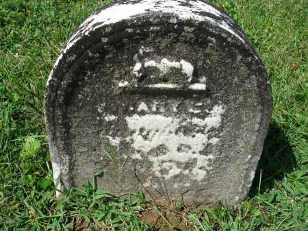 ?, MARY E. - Fairfield County, Ohio | MARY E. ? - Ohio Gravestone Photos
