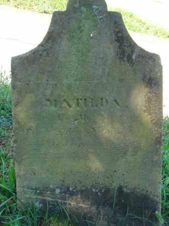 ?, MATILDA - Fairfield County, Ohio | MATILDA ? - Ohio Gravestone Photos