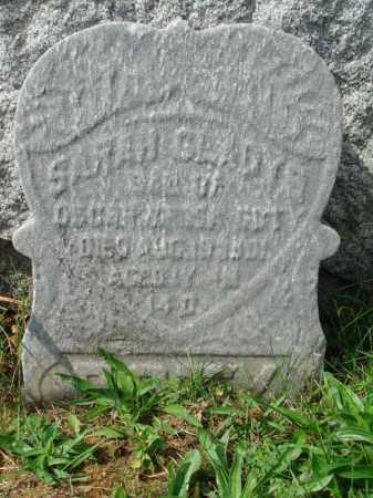 ?, SARAH GLADYS - Fairfield County, Ohio | SARAH GLADYS ? - Ohio Gravestone Photos