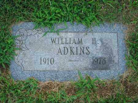 ADKINS, WILLIAM H. - Fairfield County, Ohio | WILLIAM H. ADKINS - Ohio Gravestone Photos