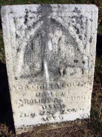 ALBRIGHT, ADA EMMA LOUISA - Fairfield County, Ohio | ADA EMMA LOUISA ALBRIGHT - Ohio Gravestone Photos