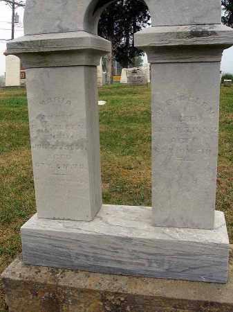 ALLEN, MARIA - Fairfield County, Ohio | MARIA ALLEN - Ohio Gravestone Photos