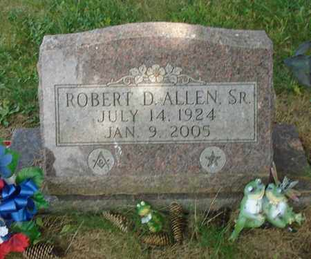 ALLEN, ROBERT D. SR. - Fairfield County, Ohio | ROBERT D. SR. ALLEN - Ohio Gravestone Photos
