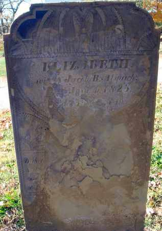 ALSPACH, ELIZABETH - Fairfield County, Ohio   ELIZABETH ALSPACH - Ohio Gravestone Photos