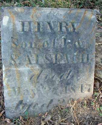ALSPACH, HENRY - Fairfield County, Ohio   HENRY ALSPACH - Ohio Gravestone Photos
