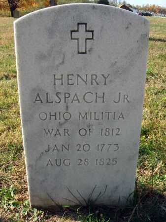 ALSPACH, HENRY, JR. - Fairfield County, Ohio | HENRY, JR. ALSPACH - Ohio Gravestone Photos