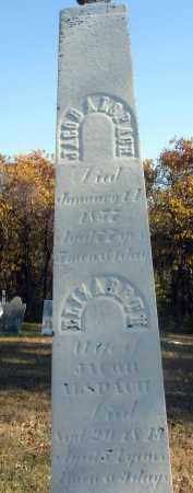ALSPACH, JACOB - Fairfield County, Ohio | JACOB ALSPACH - Ohio Gravestone Photos