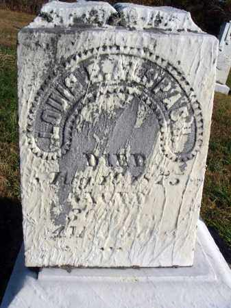 ALSPACH, LOUIS B. - Fairfield County, Ohio | LOUIS B. ALSPACH - Ohio Gravestone Photos