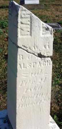 ALSPACH, MARY - Fairfield County, Ohio | MARY ALSPACH - Ohio Gravestone Photos