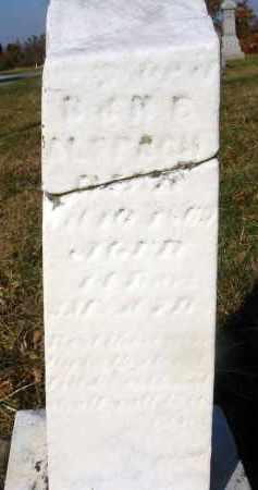 ALSPACH, ORPHA JOSEPHINE - Fairfield County, Ohio | ORPHA JOSEPHINE ALSPACH - Ohio Gravestone Photos