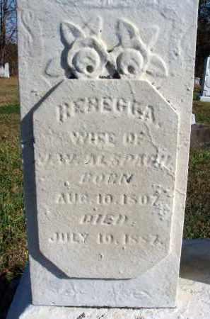 WAGONER ALSPACH, REBECCA - Fairfield County, Ohio   REBECCA WAGONER ALSPACH - Ohio Gravestone Photos
