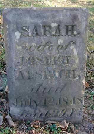 CARPENTER ALSPACH, SARAH - Fairfield County, Ohio | SARAH CARPENTER ALSPACH - Ohio Gravestone Photos