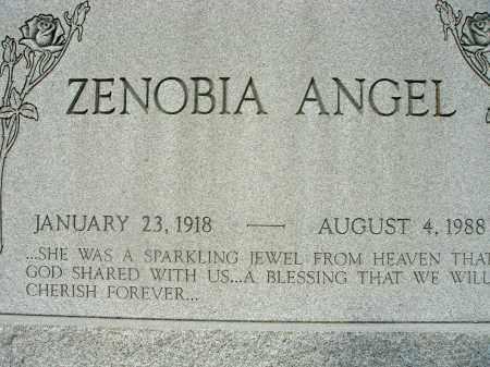 ANGEL, ZENOBIA - Fairfield County, Ohio | ZENOBIA ANGEL - Ohio Gravestone Photos
