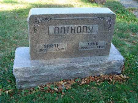 ANTHONY, JOHN - Fairfield County, Ohio   JOHN ANTHONY - Ohio Gravestone Photos