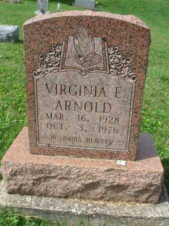 ARNOLD, VIRGINIA E. - Fairfield County, Ohio | VIRGINIA E. ARNOLD - Ohio Gravestone Photos