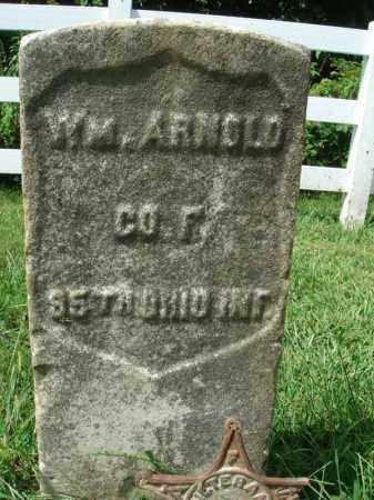 ARNOLD, WM. - Fairfield County, Ohio   WM. ARNOLD - Ohio Gravestone Photos