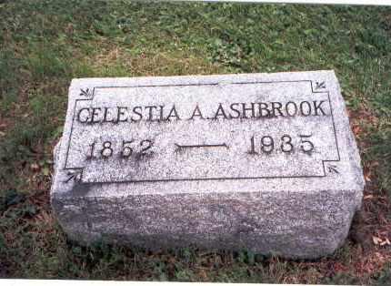 ASHBROOK, CELESTIA A. - Fairfield County, Ohio | CELESTIA A. ASHBROOK - Ohio Gravestone Photos