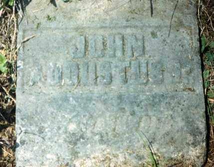 AUGUSTUS, JOHN - Fairfield County, Ohio | JOHN AUGUSTUS - Ohio Gravestone Photos