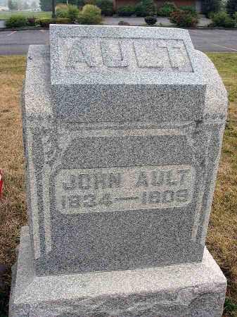 AULT, JOHN - Fairfield County, Ohio | JOHN AULT - Ohio Gravestone Photos