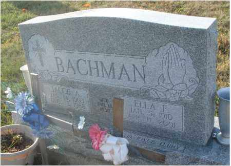 BACHMAN, ELLA F. - Fairfield County, Ohio | ELLA F. BACHMAN - Ohio Gravestone Photos