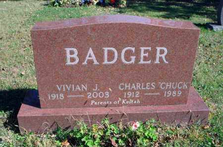 BADGER, VIVIAN J. - Fairfield County, Ohio | VIVIAN J. BADGER - Ohio Gravestone Photos