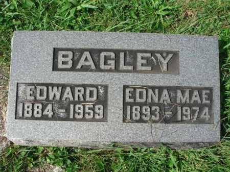 BAGLEY, EDWARD - Fairfield County, Ohio | EDWARD BAGLEY - Ohio Gravestone Photos