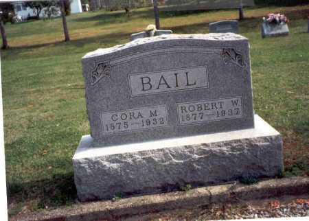 BRATTON BAIL, CORA M. - Fairfield County, Ohio | CORA M. BRATTON BAIL - Ohio Gravestone Photos